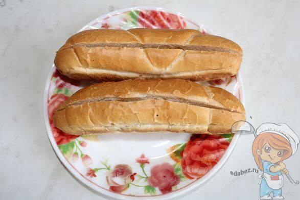 Булочки для хот-дога