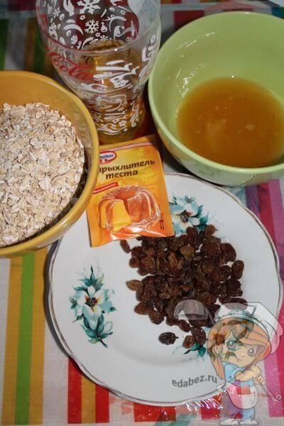 Продукты для печенья без муки