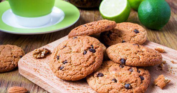 Печеньки с сухофруктами
