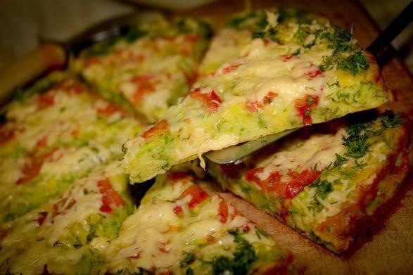 Пицца на хлебе