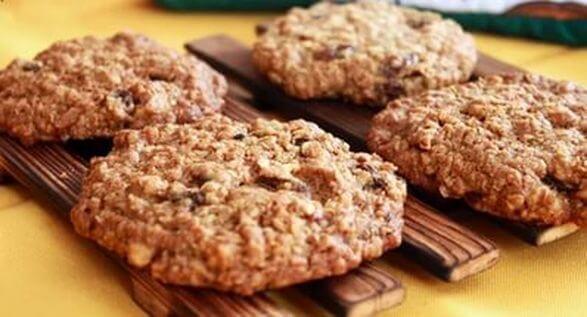 Печеньки из геркулеса