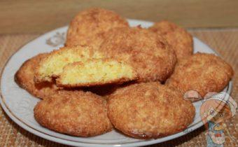 Печеньки без муки с кокосовой стружкой