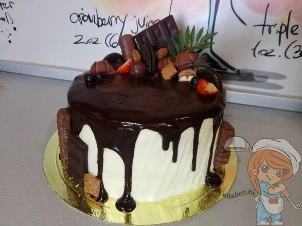 чудо торт на сметанном креме
