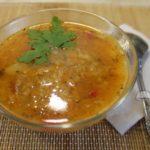 Суп с рисом без мяса