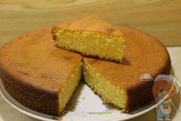 Пирог без глютена