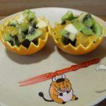 Фруктовый салат с апельсином