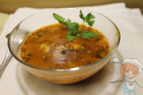 Суп крем из морепродуктов со сливками рецепт