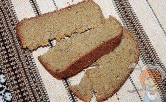 Безглютеновый хлеб из кукурузной муки