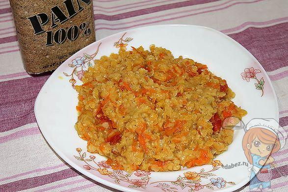 Рецепт каши из чечевицы