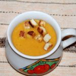 крем суп, суп пюре из овощей
