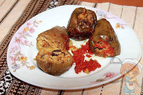 Блюдо из перцев