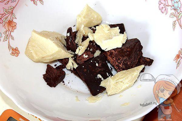 Какао и масло