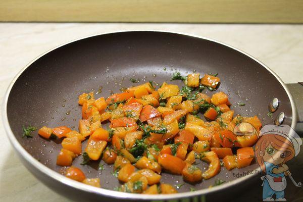 Обжарка овощей