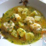 Суп с картошкой и клецками без мяса