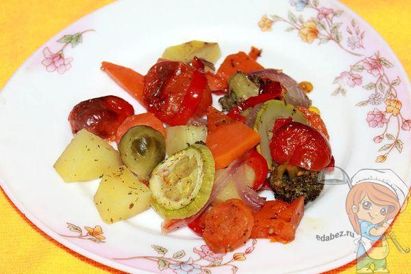 Как запекать овощи