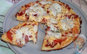 Пицца без духовки