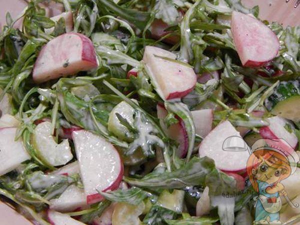 Салат для похудания