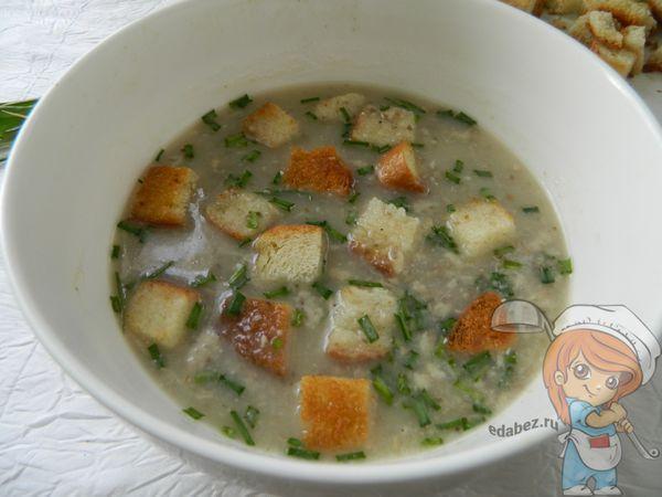 суп-пюре без мяса