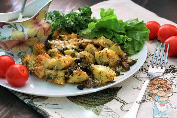 Как запечь картошку в духовке вкусно