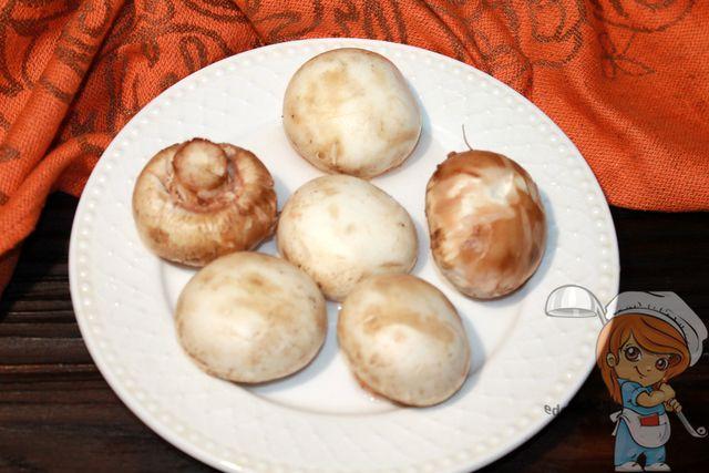 Моем грибы
