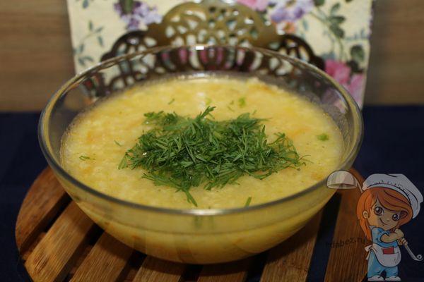 Суп из пшена