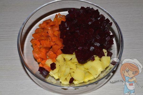 Овощи в салатнице