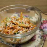 Салат из моркови