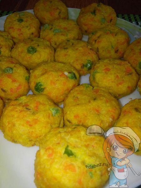 Запеченные овощные шарики