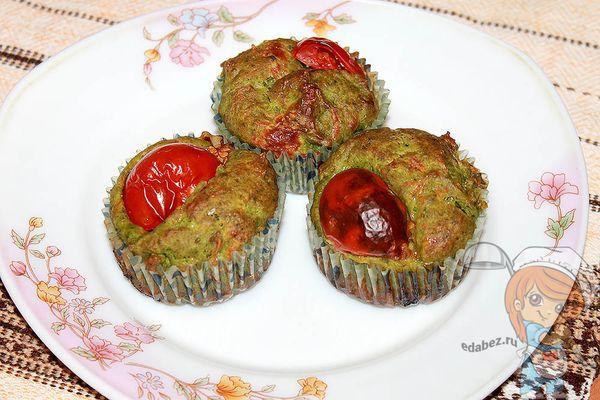 Маффины с авокадо