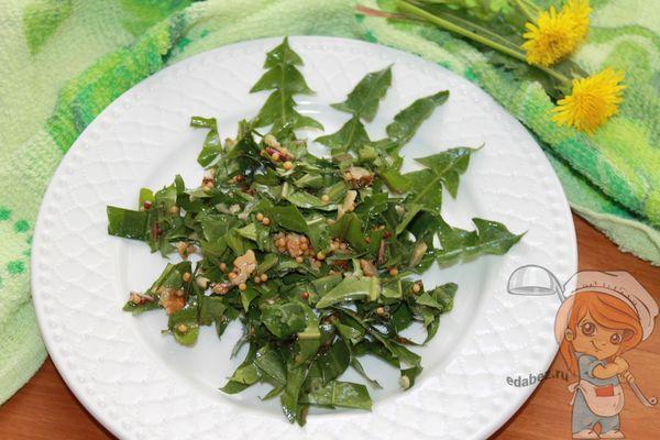 Выкладываем летний салат