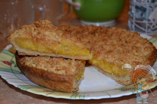 Пирог с лимоном и апельсином