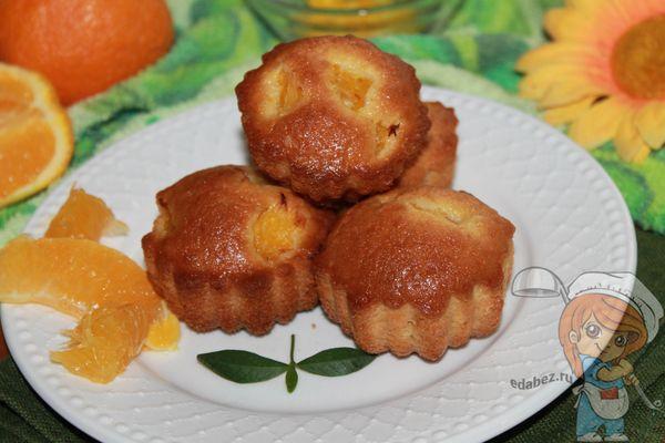 Кексы с апельсинами