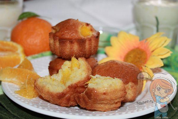 Маффины с апельсинами