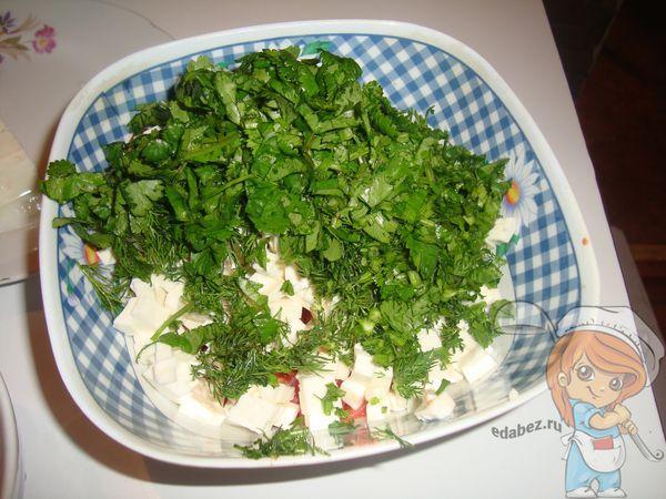 Отправляем в салат