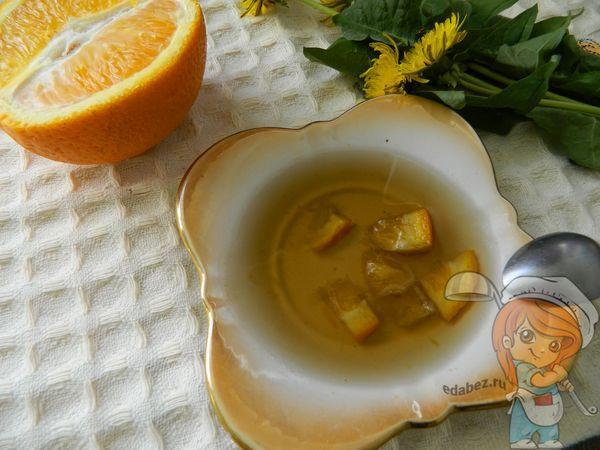Апельсиновое варенье с одуванчиками
