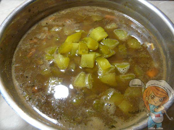 Кастрюля супа
