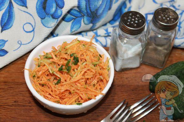 Салат из моркови без майонеза