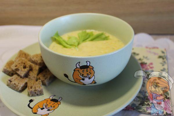 Кремовый суп пюре