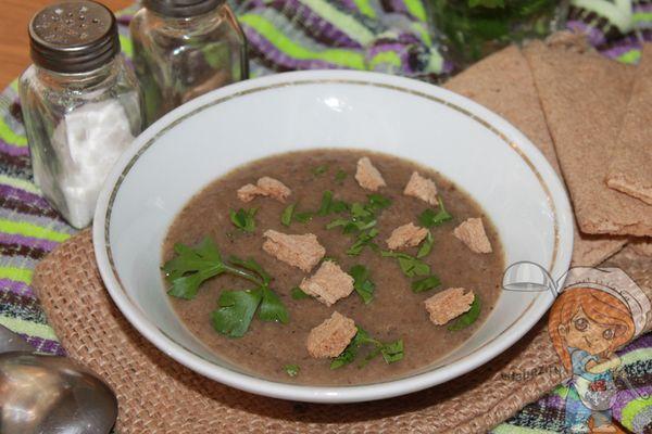 Суп пюре из грибов