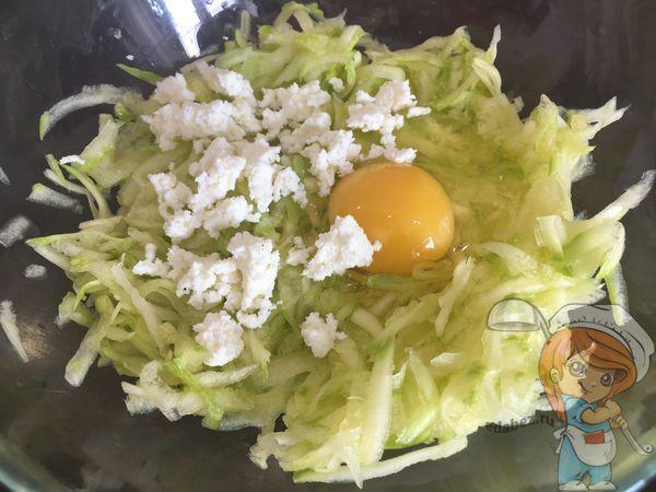 Яйцо и сыр