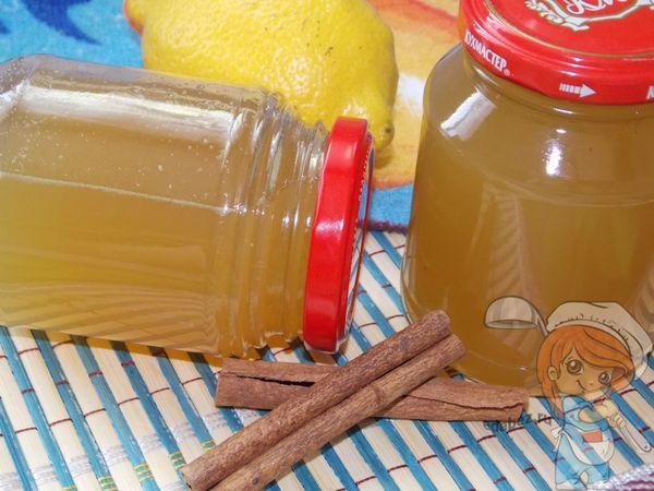 имбирный сироп с лимоном