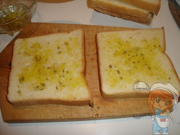 напитываем хлеб