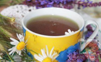 Чай с ромашкой и мелиссой