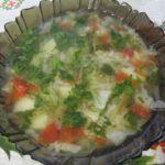 Суп с пшеном без мяса