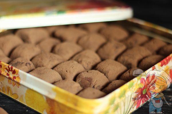 домашние конфеты в коробке