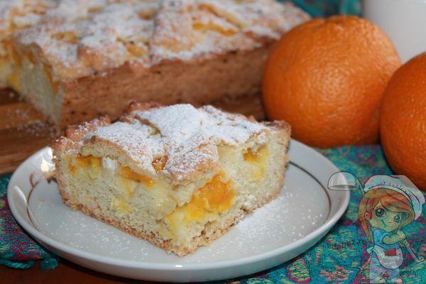 Рецепт пирога с апельсинами в духовке