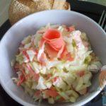 витаминный салат с имбирем