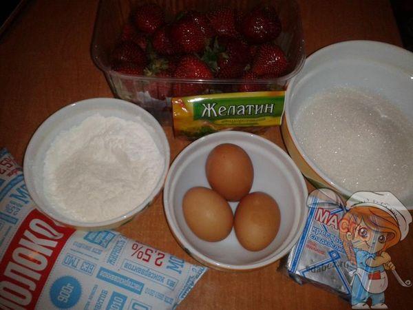 Продукты для крема, пропитки и начинки