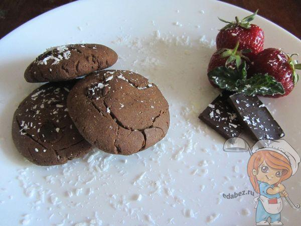 шоколадное печенье без пшеничной муки