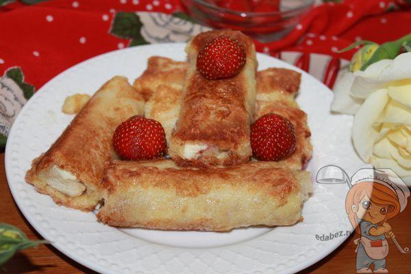 Блины из тостового хлеба